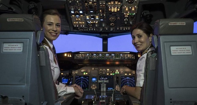 Flagship carrier THY sees all-time high for female employment with 211 women pilots