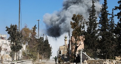 pThe Free Syrian Army (FSA) and Turkish military has entered the center of Syria's strategic town of al-Bab on Thursday, Defense Minister Fikri Işık said.br / br / Işık told reporters that...