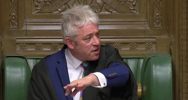 رئيس مجلس العموم البريطاني يرفض إجراء تصويت على اتفاق بريكست الجديد