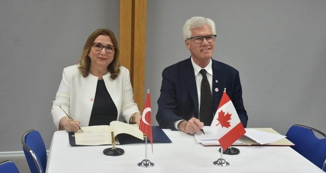 مذكرة تفاهم تركية كندية لتشكيل لجنة اقتصادية وتجارية مشتركة