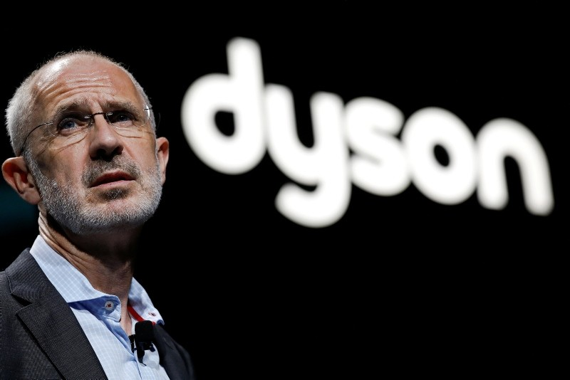 Dyson CEO Jim Rowan speaks during a product launch event in Beijing, China September 12, 2018. (Reuters Photo)