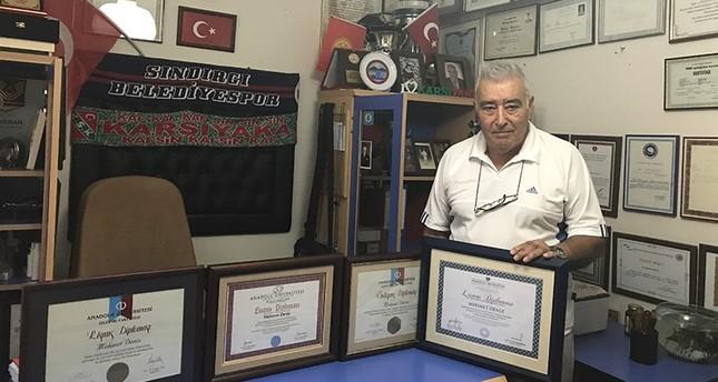 الجد السوبر محمد دنيز (61 عاماً) - الأناضول