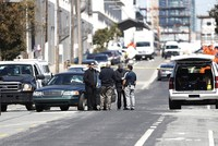 1 dead, 4 wounded after axe-wielding driver plows into group in San Francisco