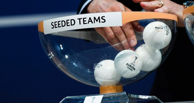 Michael Heselschwerdt, UEFA's head of Club Competitions, during the draw for the first two qualifying rounds of the UEFA Europa League 2016/17, at the UEFA Headquarters in Nyon, Switzerland, 20 June 2016. (EPA Photo)