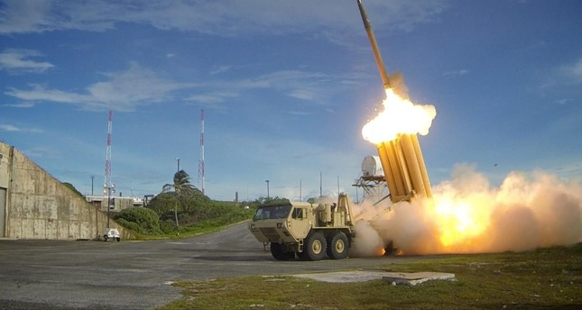 US THAAD missile defense system enters South Korea site