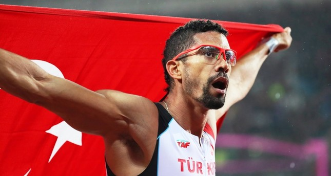 Turkish sprinter wins silver at world championships