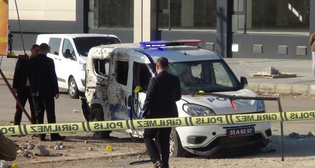 إصابة شرطيين تركيين في هجوم استهدف سيارتهما جنوبي البلاد
