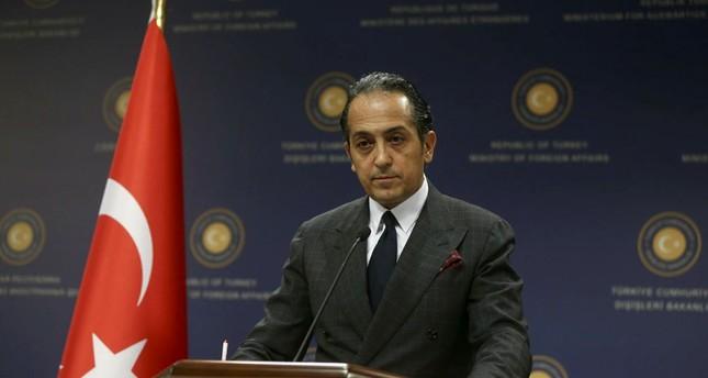 Foreign Ministry Spokesperson Hüseyin Müftüoğlu.