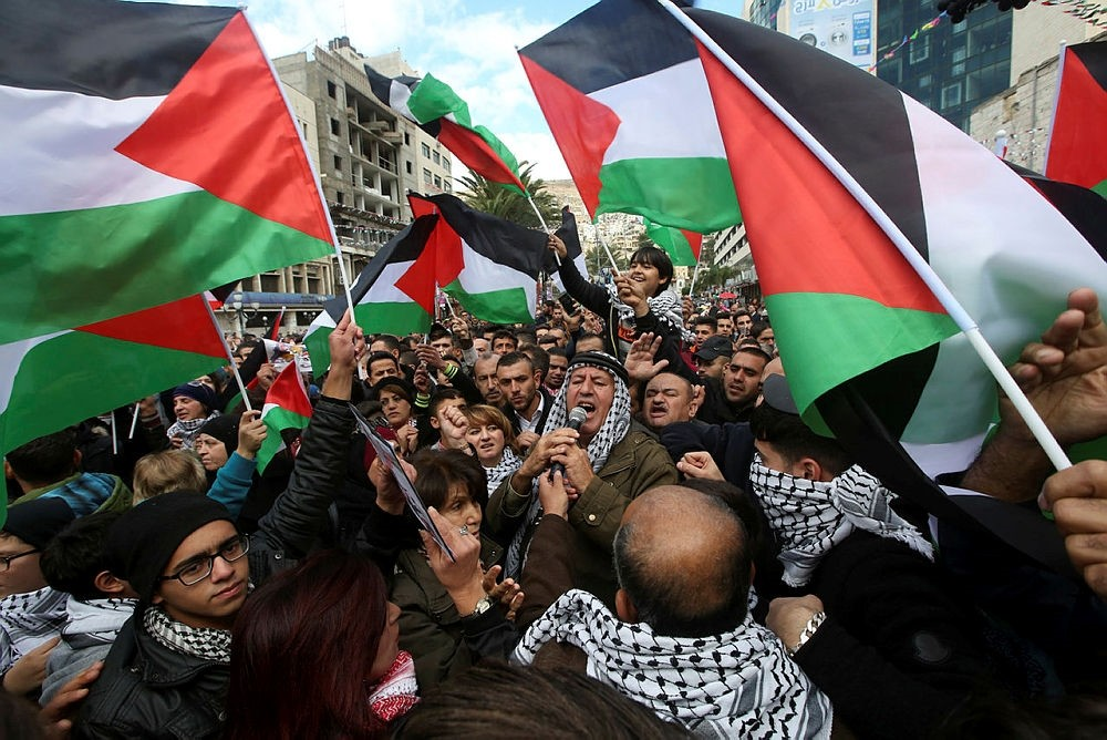 Protests in Nablus, West Bank