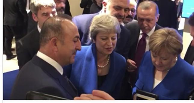 من فيديو نشره رئيس الوزراء الألباني على تويتر