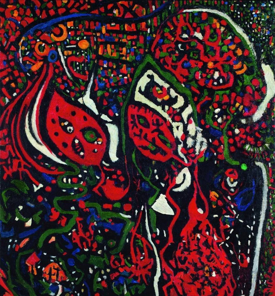 Fahrelnissa Zeid, 1952 Abstract Composition 181 x 167,5 cm