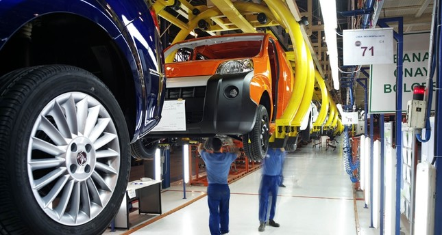 Turkish automotive sector's share in tax revenues recorded at 12.8 pct