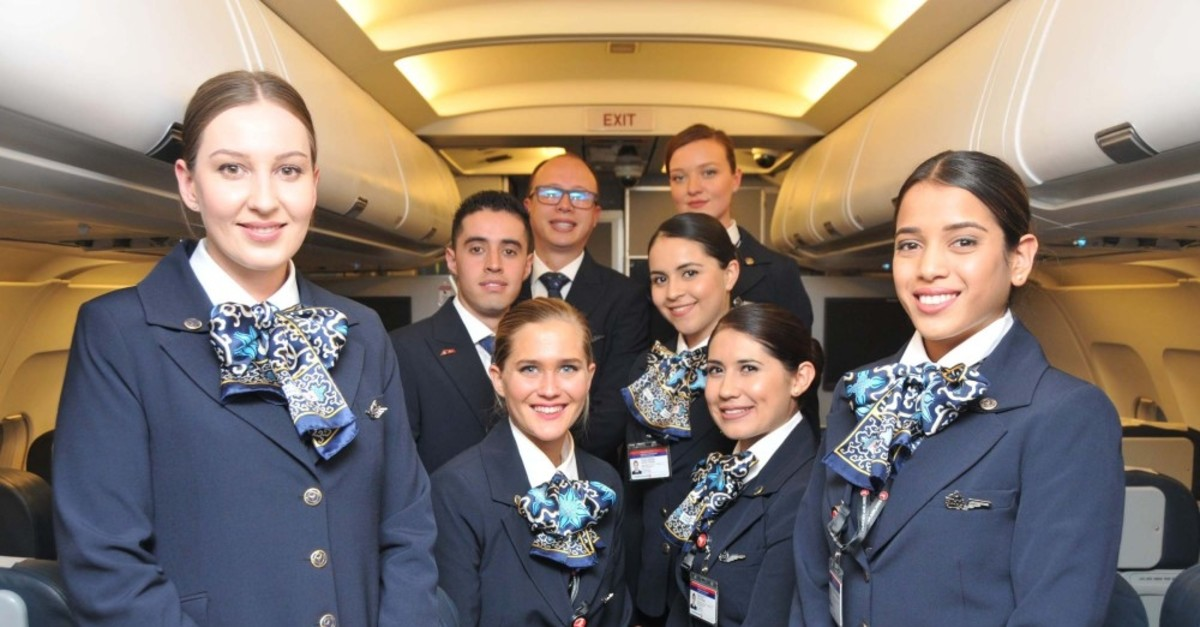 Turkish Airlines recently recruited one Ukrainian, 25 Mauritian, three Lithuanian and 31 Colombian flight attendants as part of the foreign flight attendant employment project.