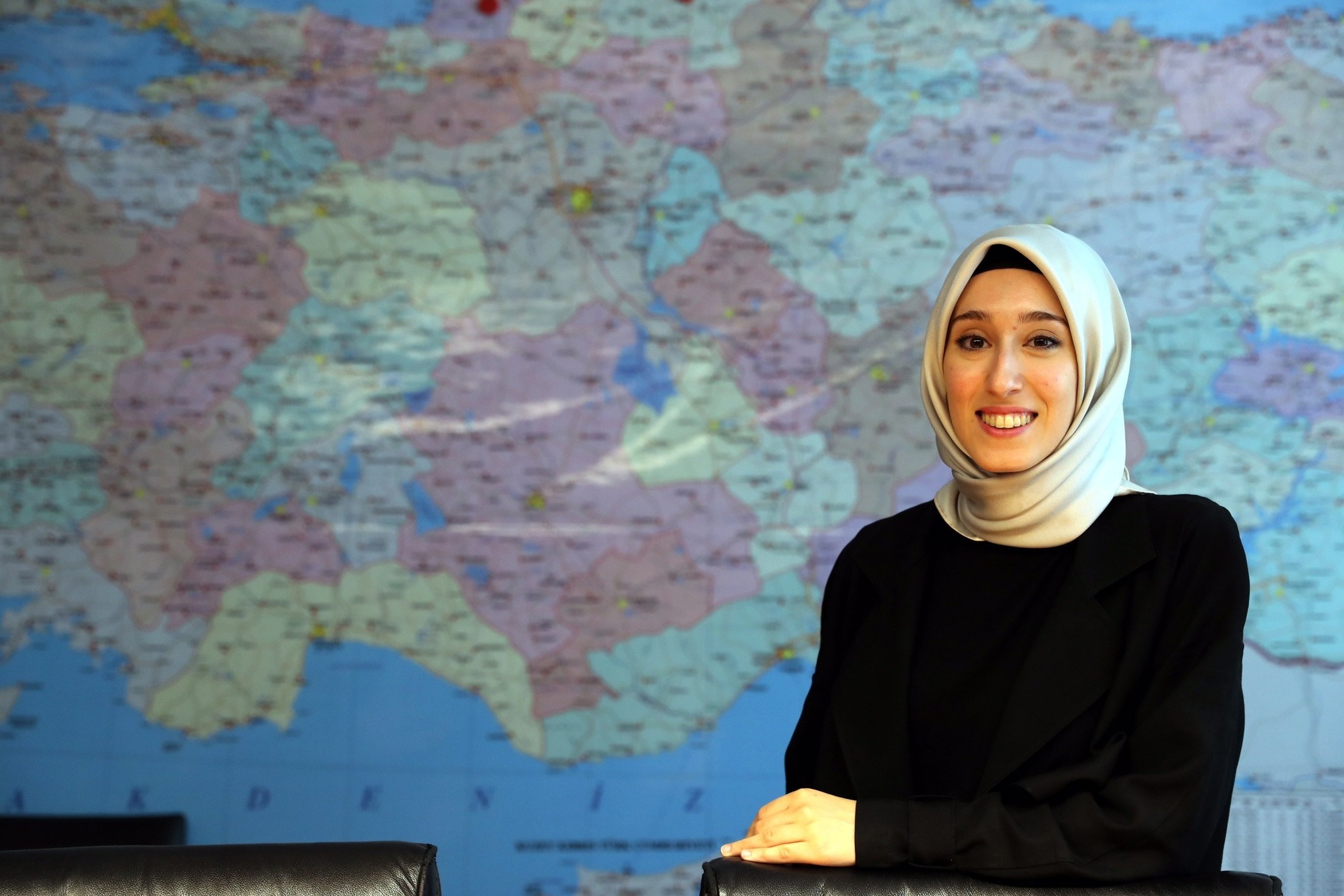 Ru00fcmeysa Kadak said that she sometimes had to halt her campaign in order not to be late for her university exams.