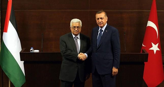 Erdoğan calls Abbas, Rivlin over Al-Aqsa tension