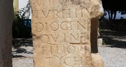 1,900-year-old mausoleum tablet found in NW Turkey