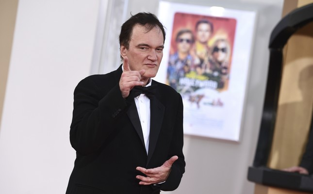 Director Quentin Tarantino at the Los Angeles premiere of Once Upon a Time in Hollywood, on July 22, 2019.