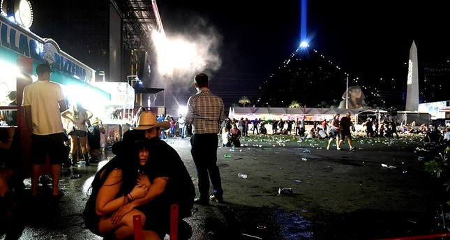 White House says 'now is no time for gun debate' after Las Vegas terror attack