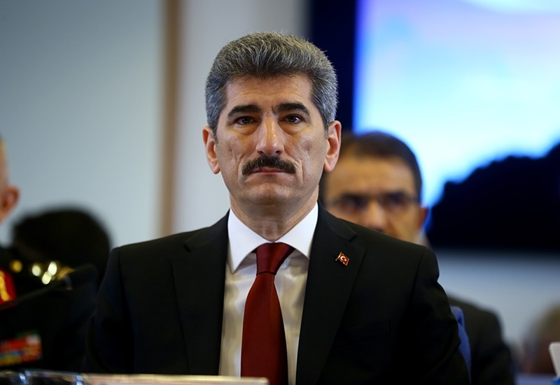 Turkish Deputy Interior Minister Muhterem u0130nce (AA Photo)
