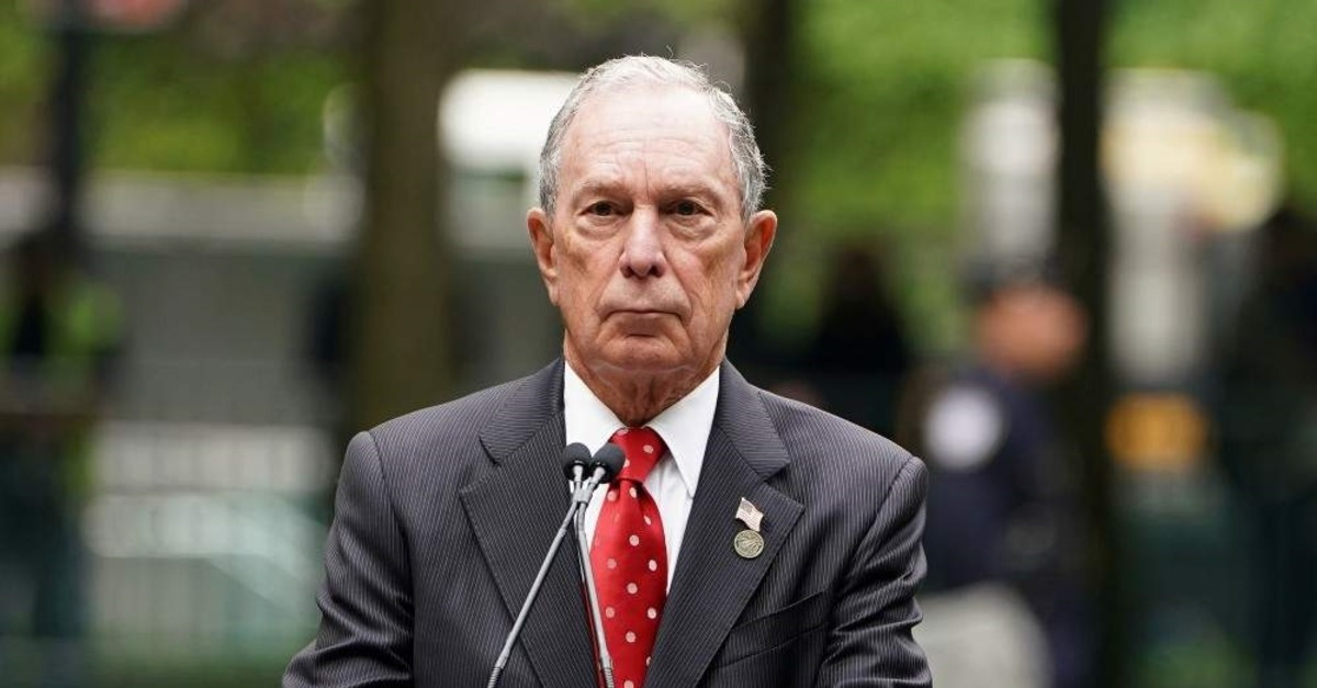 Former Mayor of New York Michael Bloomberg speaks in the Manhattan borough of New York, New York, U.S., May 30, 2019. (REUTERS Photo)
