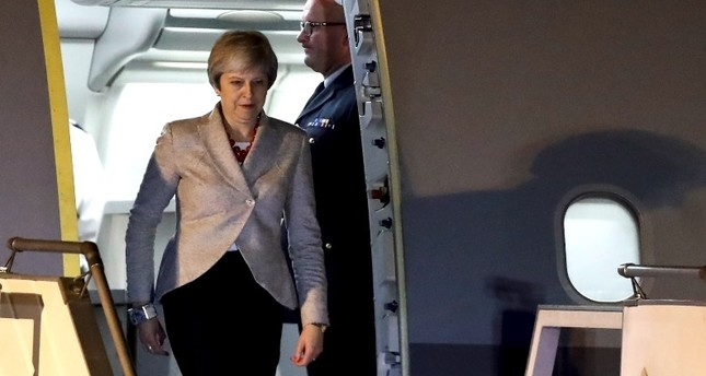 UK's May faces severe Brexit backlash, Falklands issue returns