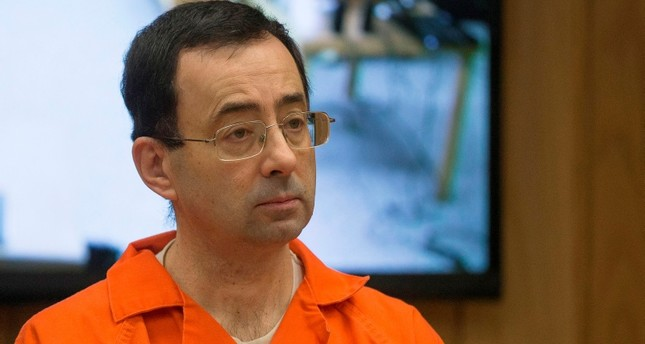 In this file photo taken on February 5, 2018 former Michigan State University and USA Gymnastics doctor Larry Nassar appears in court for his final sentencing phase in Eaton County Circuit Court in Charlotte, Michigan. (AFP Photo)