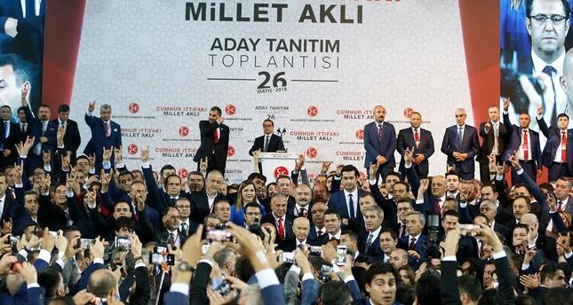 زعيم الحركة القومية معلناً برنامج حزبه الانتخابي: تركيا أمام امتحان تاريخي