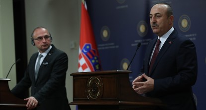 تشاوش أوغلو: إرسال قوات إلى ليبيا ليس مطروحاً على جدول أعمالنا