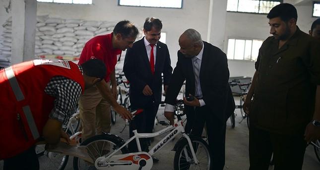 أردوغان يُهدي أطفال غزة دراجات هوائية بمناسبة عيد الأضحى