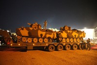 The U.S. Defense Department acknowledged support to a Turkish-led military operation in the northeastern Syrian province of Idlib to prevent clashes and ensure the de-escalation regime in the...