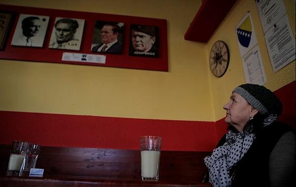 Famous for boza and photographs of Yugoslavian leader Josip Broz Tito, Bajramovic pattisserie is a popular venue for Sarajevo locals.