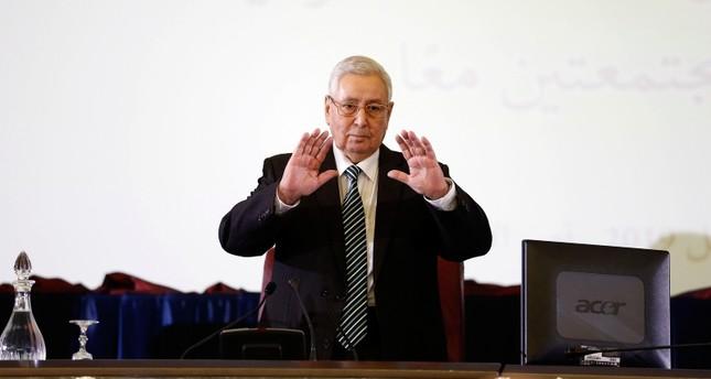 Algeria's presidential poll on Dec. 12: interim president