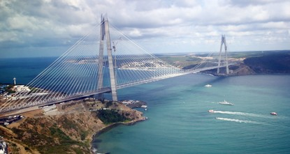 pHuge structures such as the Eurasia and Marmaray tunnels, the Yavuz Sultan Selim and Osmangazi bridges, which are located in the earthquake zone, are designed to survive even in devastating...