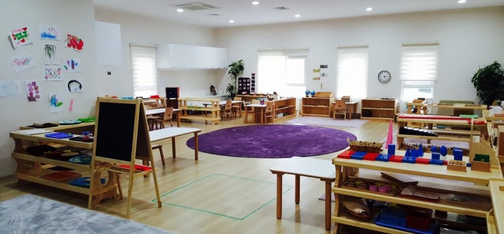 Montessori designed unique learning materials and placed them in an innovative classroom setting