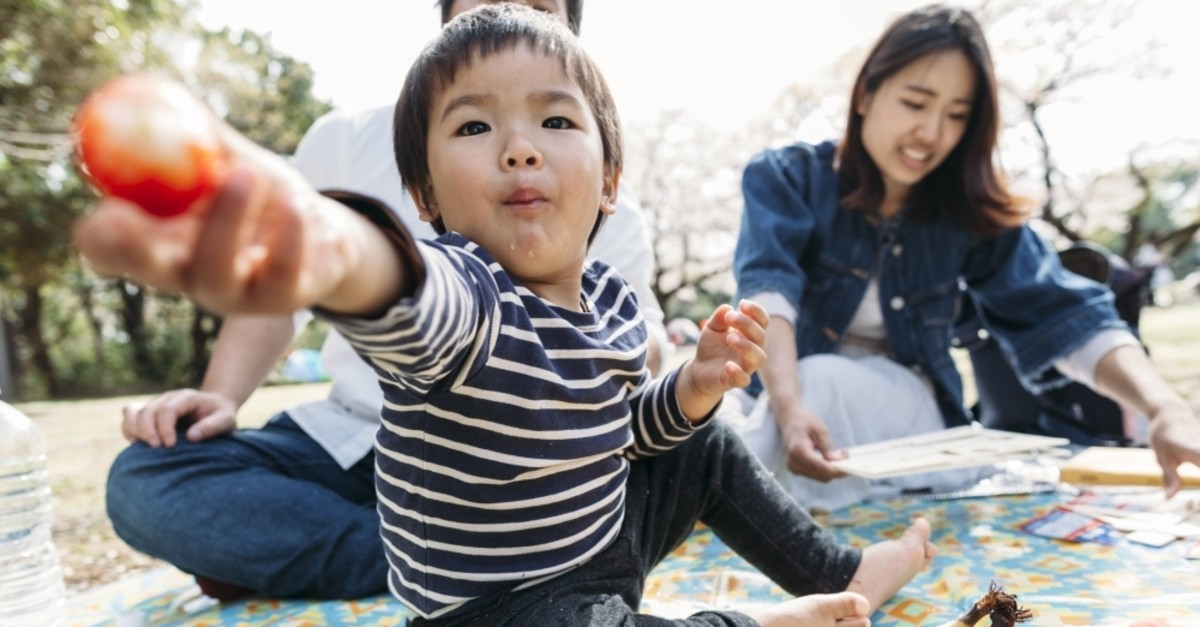 The study showed that even hungry babies will share food with strangers in need. (iStock Photo)