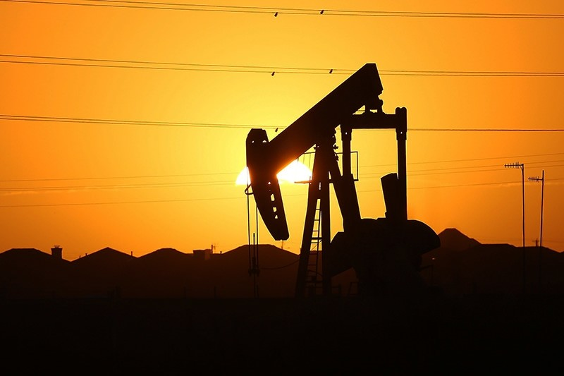 In this January 21, 2016 file photo a pumpjack sits on the outskirts of town at dawn in the Permian Basin oil field in the oil town of Midland, Texas, U.S. (AFP Photo)