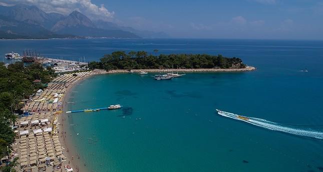تركيا.. ارتفاع نسبة السياح بأنطاليا 46%