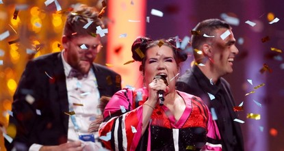 Israel wins Eurovision song contest