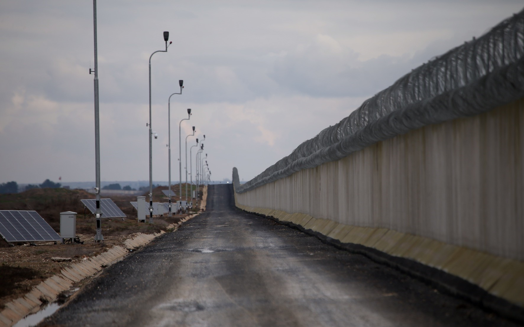 The new  high-tech system, along with a modular concrete wall erected to curb illegal crossings by smugglers and terrorists, is expected to work as an added measure for security along the countryu2019s border.