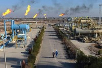 Iraq to halt oil output at southern oil field