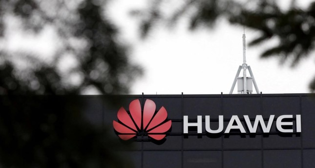 The Huawei logo is pictured outside their research facility in Ottawa, Ontario, Canada, December 6, 2018. (Reuters Photo)