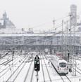 Baden-Württemberg: Schnee behindert Bahnverkehr