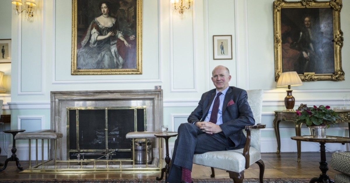 U.K. ambassador to Ankara, Dominick Chilcott (AA Photo)