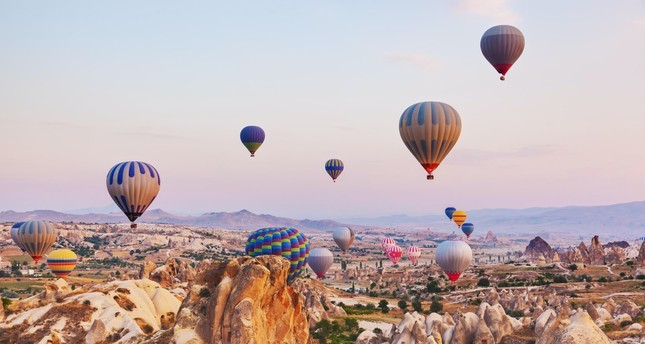 Hot air balloon tours in Cappadocia generate $43M
