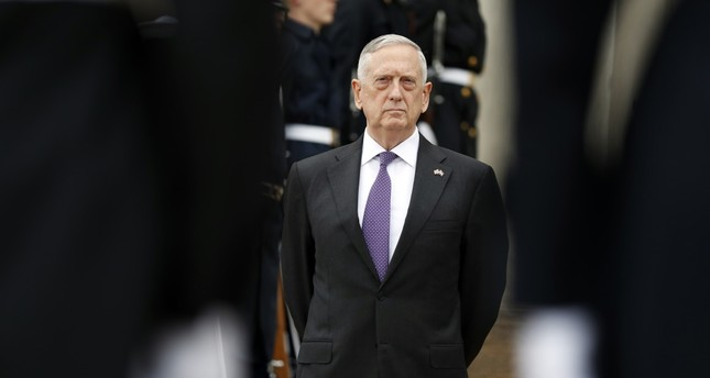 Mattis to visit Turkey to discuss Ankara's concerns