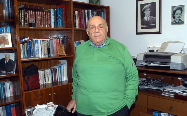 Rauf Denktaş, Feb. 23, 2008.