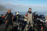 Adventurous Turks travel from South Africa to Turkey by motorcycle