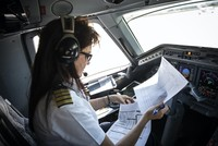 Female rescue pilot flies to save lives