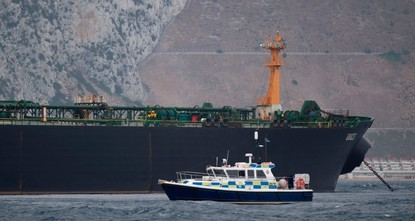 Gibraltar police arrest captain of Iranian tanker