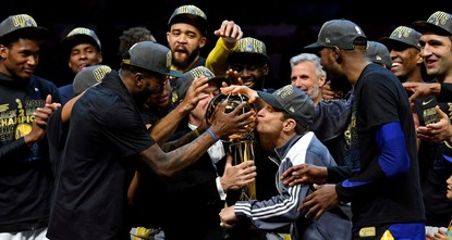 Warriors claim third NBA championship